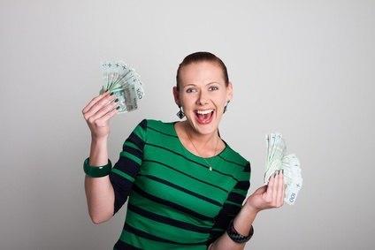 konieta z pieniędzmi