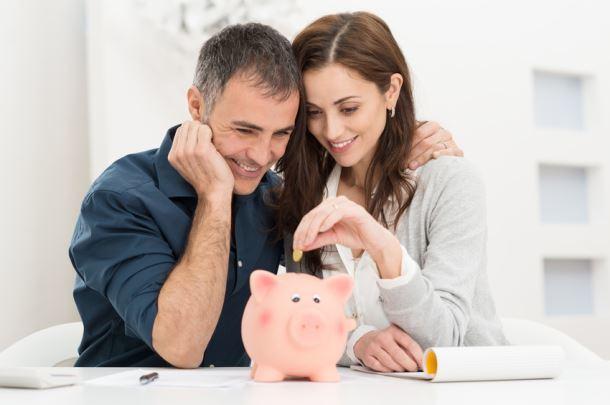 oszczędności w skarbonce